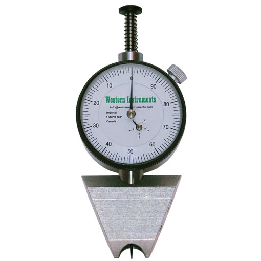 N88-4 Pocket Pit Gauge with Dual Edge Blade